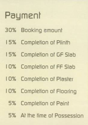 Nilamber Aarcon Payment Plan