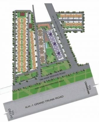TDI Espania Floors Site Plan