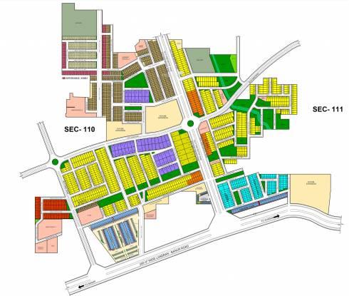 TDI TDI City 2 Plots Site Plan