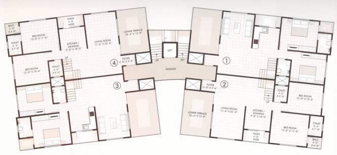 Madhuvan Kishan Classic Cluster Plan
