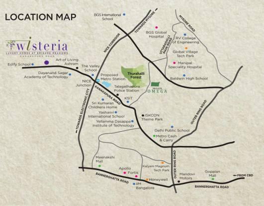 Brigade Wisteria At Meadows Location Plan