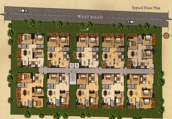 AR Maa Brindavan Cluster Plan