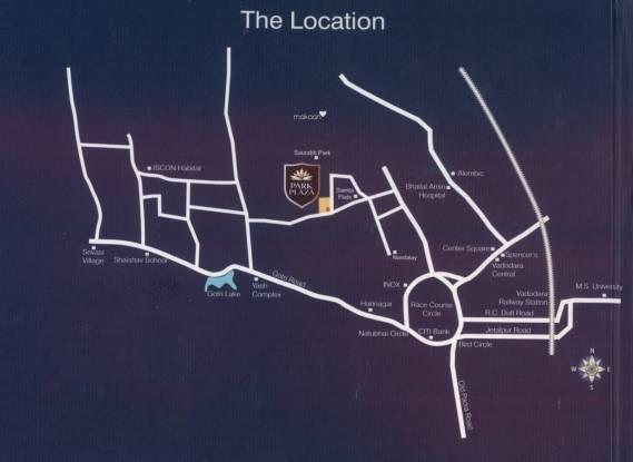 Park Park Plaza Location Plan