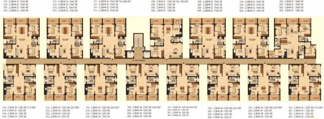 Aashrayaa Citadel Cluster Plan