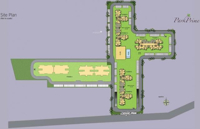 BPTP Park Prime Site Plan