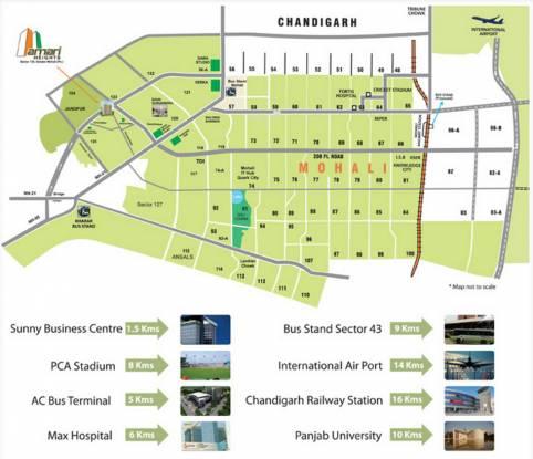Future Amari Heights Location Plan