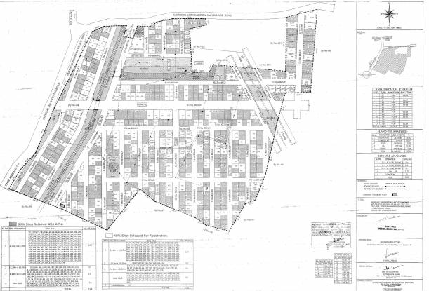 BSR Akruthi Green Woods Layout Plan