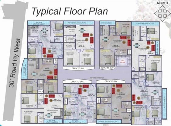 BSR Akshaya Residency Cluster Plan