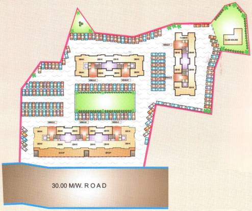 Leena Bhairav Residency Site Plan