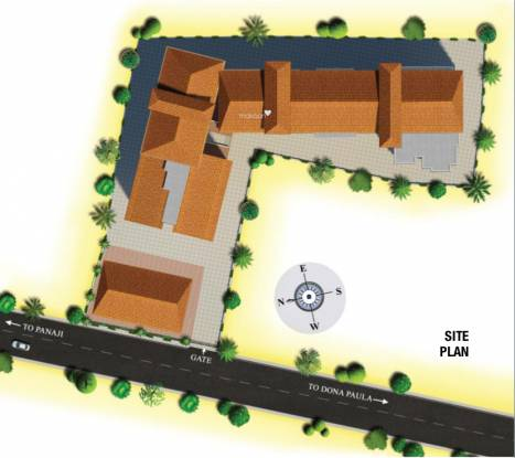 Kamat Construction Pvt Ltd Galaxy Site Plan