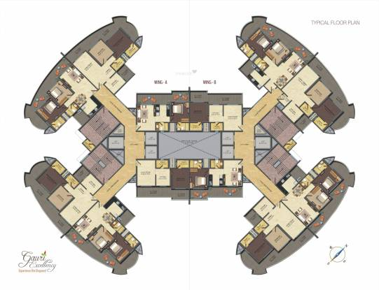 Excellency Cluster Plan