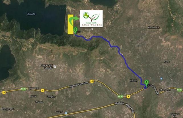 Green Green Earth Location Plan