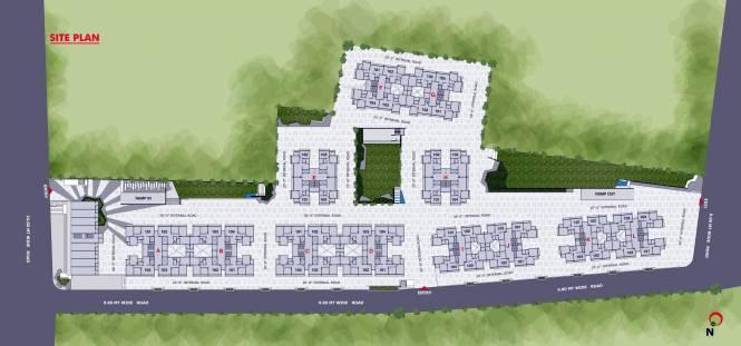 Aaryan Gloria Site Plan