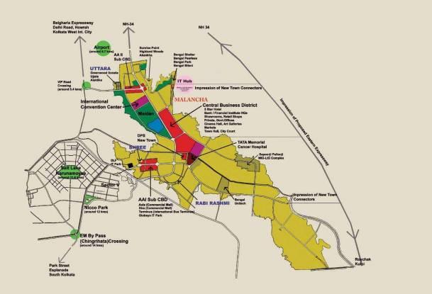 Malancha Location Plan