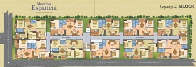 Divya Espancia Lepakshi Cluster Plan
