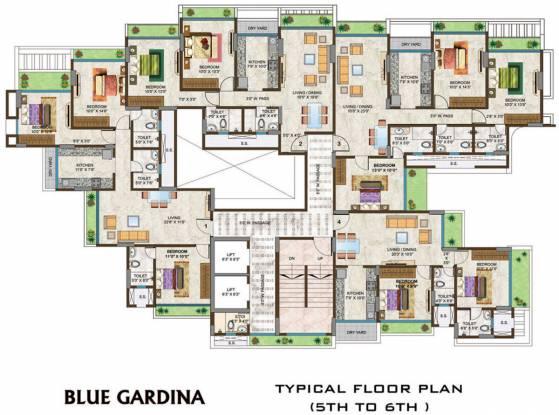 Options Blue Gardina Cluster Plan