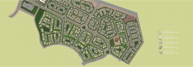 Midas Rahat Villas Layout Plan