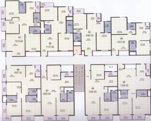 Mahaghar Nest Cluster Plan