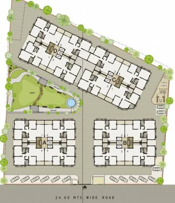 Sangani Signer Residency Layout Plan