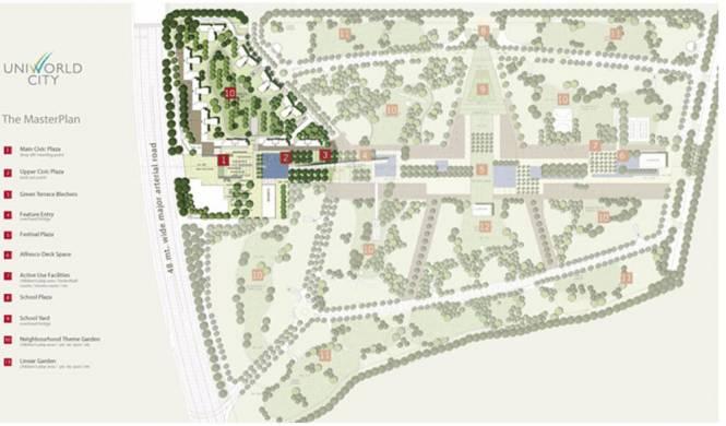 Unitech Gardens Master Plan