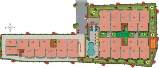 SVS Ramanasri Maples Site Plan