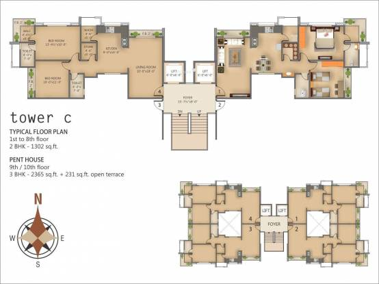 Happy Home Nest View Cluster Plan