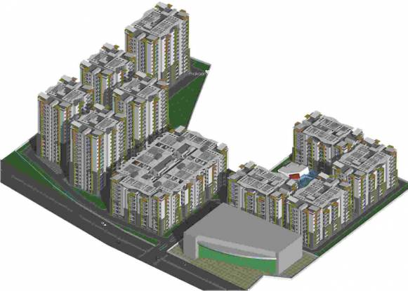 Novus Infra Pvt Ltd Florence Village Elevation