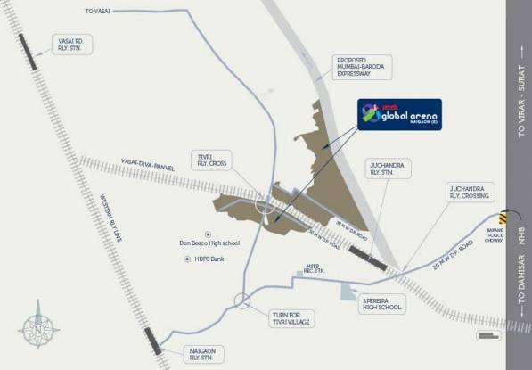 Unicorn Arena Location Plan