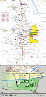 BPTP Park Elite Premium Villa Location Plan