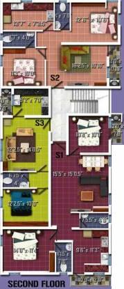 Anu Advika Flats Cluster Plan