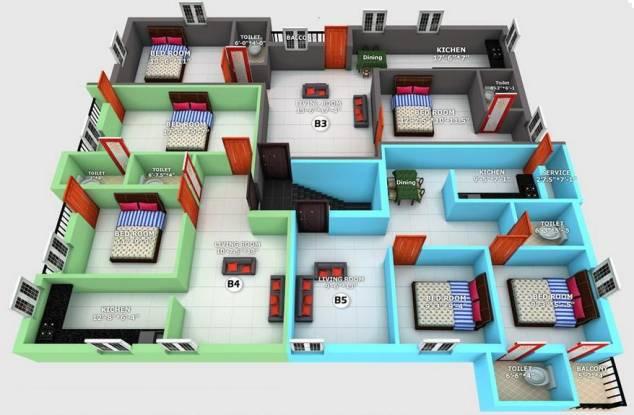 Anu Suseela Nagar Cluster Plan