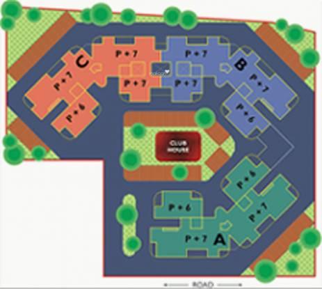 Atul Leela Garden Layout Plan