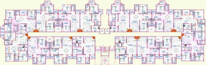 Majestic Residency Cluster Plan