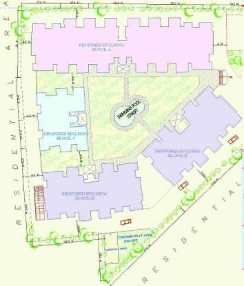 Majestic Residency Site Plan