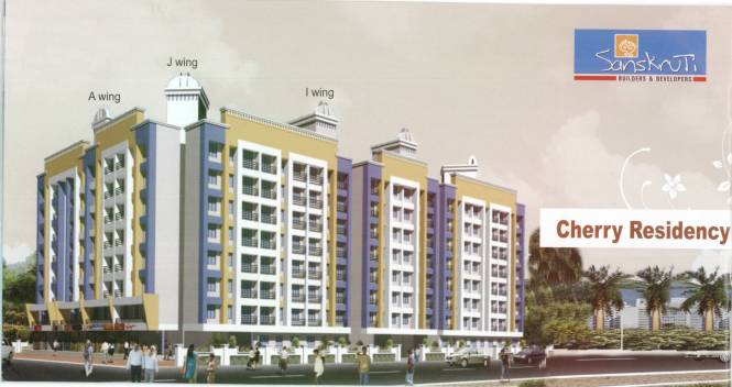 Sanskruti Cherry Residency Elevation