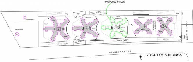 BramhaCorp Exuberance Layout Plan