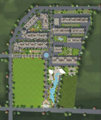 BramhaCorp Suncity Layout Plan