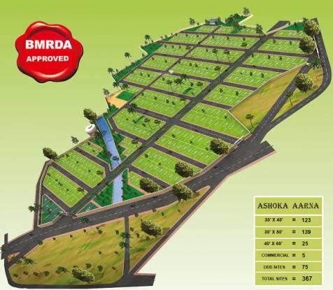 Ashoka Aarna Site Plan