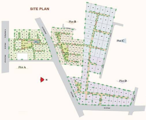 Saumya Aryaman Site Plan