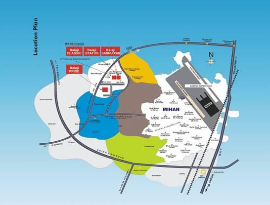 Balaji Classic Location Plan