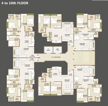 Universal Bilvam Paradise Cluster Plan