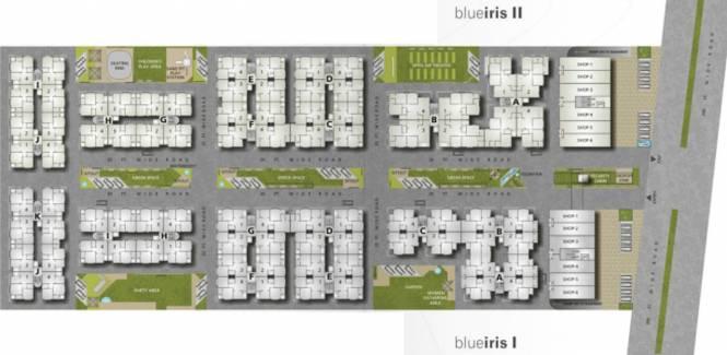 Iris Blueiris II Layout Plan