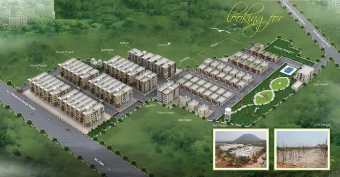 Sardar Villas Site Plan