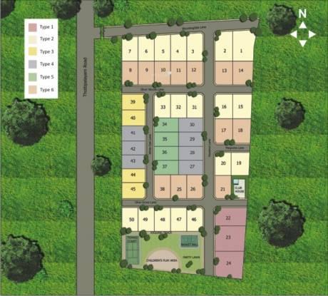 Elysium Villa Park Layout Plan