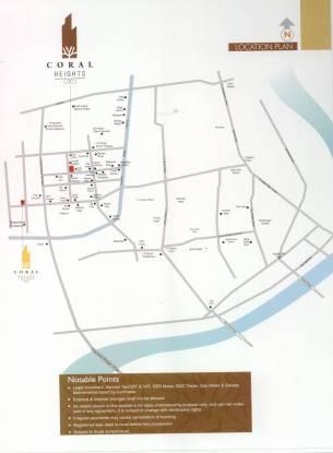 Narayan Coral Heights Location Plan