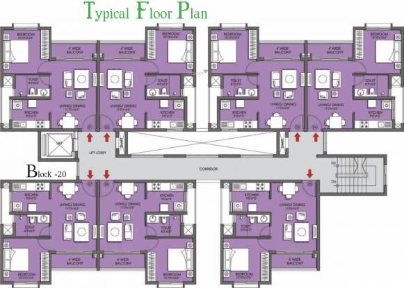 Prestige Kew Gardens Cluster Plan