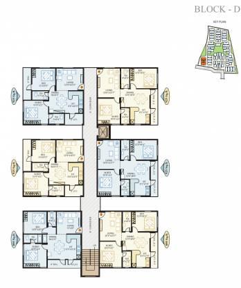 KSR Comfort Homes Cluster Plan