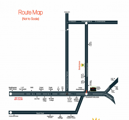 New Brunda Avenue Location Plan