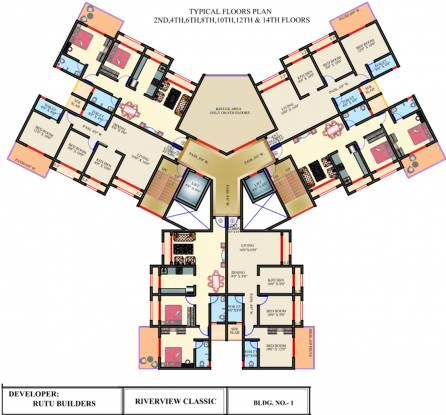 Rutu Riverview Classic Cluster Plan