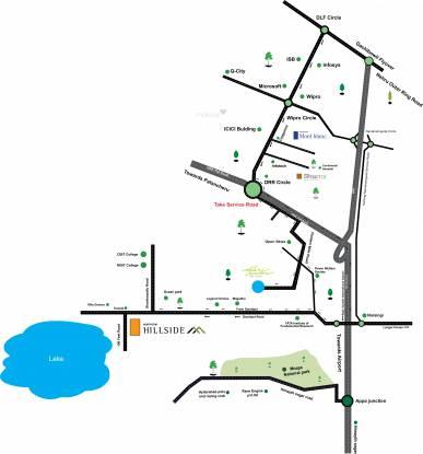 Northstar Hillside Location Plan